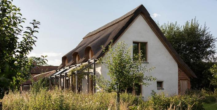 Straw bale passive house