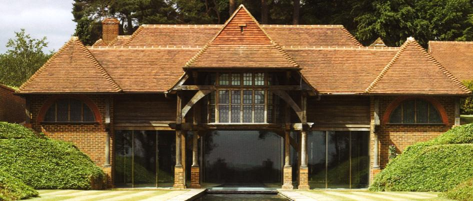 The timber frame company oak framed houses and buildings for Oak framed house designs